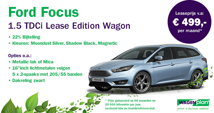 Ford Focus 1.5 TDCi Lease Edition Wagon